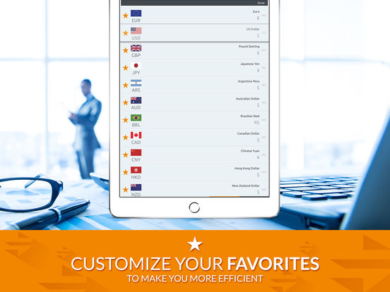 Currency Converter (Free) iPad Screenshot 3