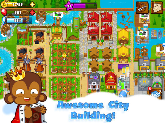 Bloons Monkey City screenshot 6
