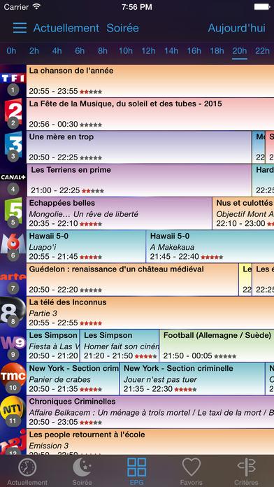 soTV, programme TV Screenshots