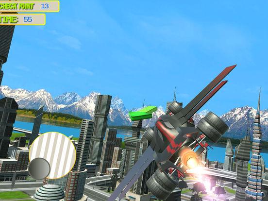 Futuristic Flying Car 3D screenshot 10