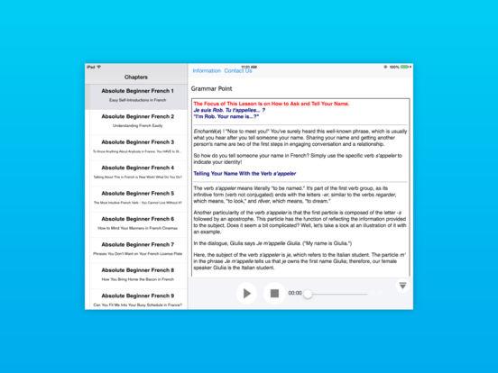 Beginner Peruvian Spanish for iPad (Peru) iPad Screenshot 3