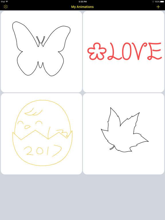 Animation Board Pro - Make live doodles Screenshots