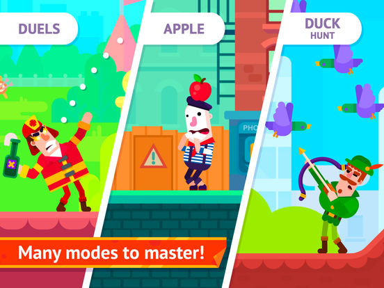 Bowmasters (Ad Free) – Top Multiplayer Bowman Game