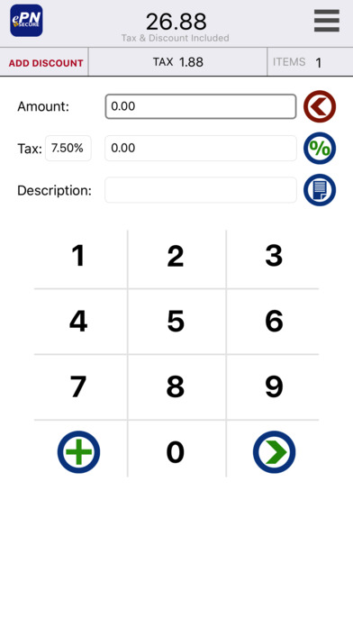 ePNMobile iPhone Screenshot 1