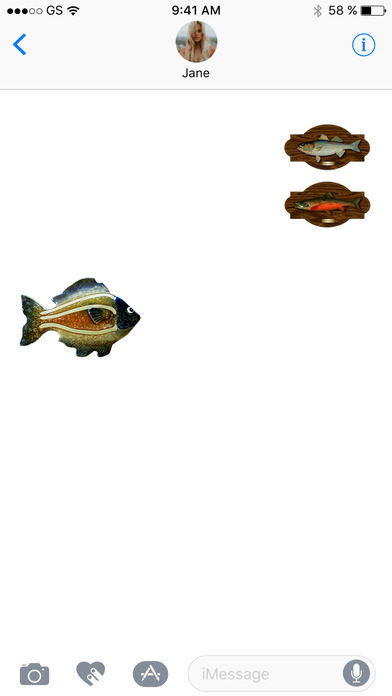 Fish Three Sticker Pack screenshot 2