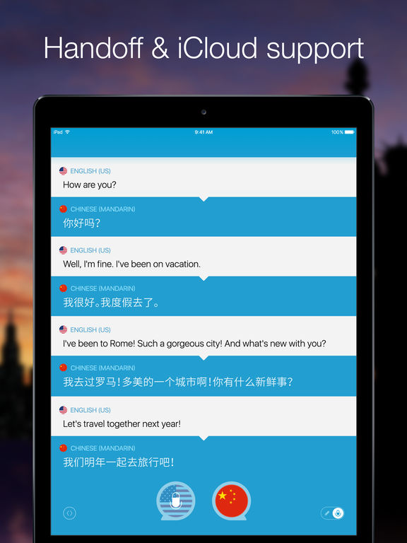 Screenshot #4 for Speak & Translate - Voice and Text Translator