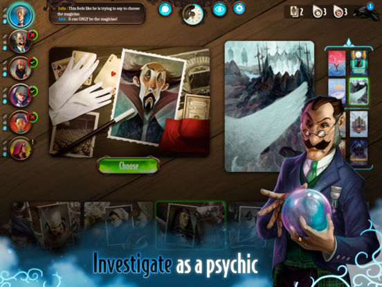 Screenshot #1 for Mysterium: The Board Game