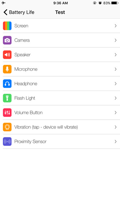 Battery Pro for Battery Life Apps free for iPhone/iPad screenshot