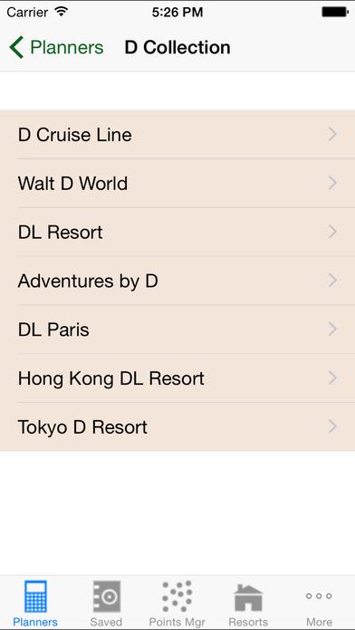 DVC Planner iPhone Screenshot 4