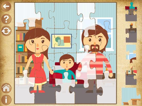 Детские игры для девочек - пазлы для малышей детей Скриншоты3