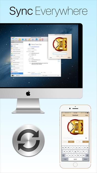 Screenshot #9 for Password Manager Data Vault - Safe, Secure, Wallet