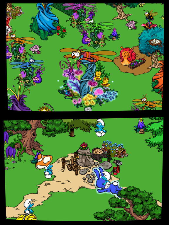 Smurfs' Village Скриншоты11