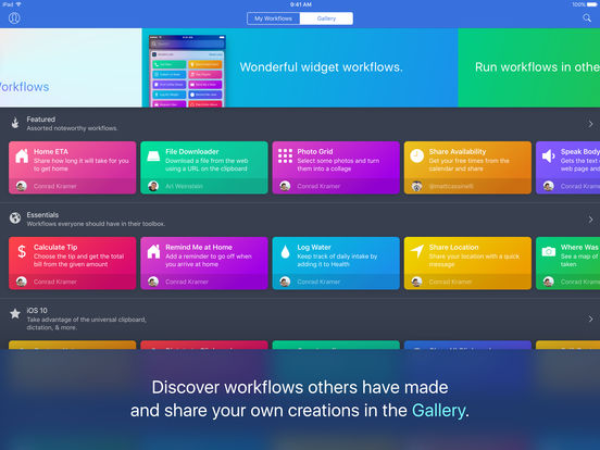 Apple Acquires Workflow: Powerful Automation Made Simple For iOS/Watch And Drops It To Free