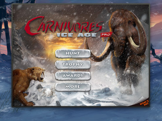 Carnivores: Ice Age iPad Screenshot 1