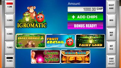 Screenshot 1 Игроматик Слотс Коктейль — игровые автоматы