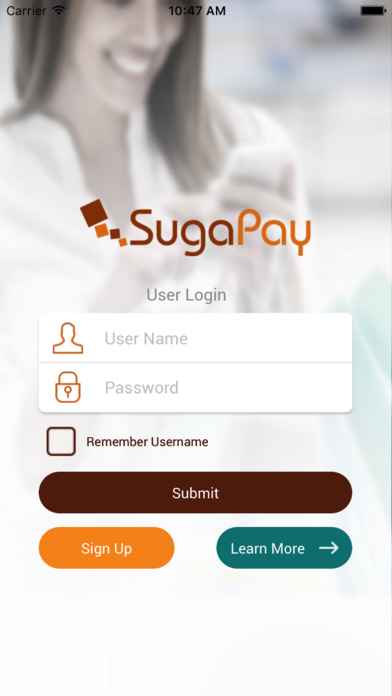 SugaPay Customer screenshot 1