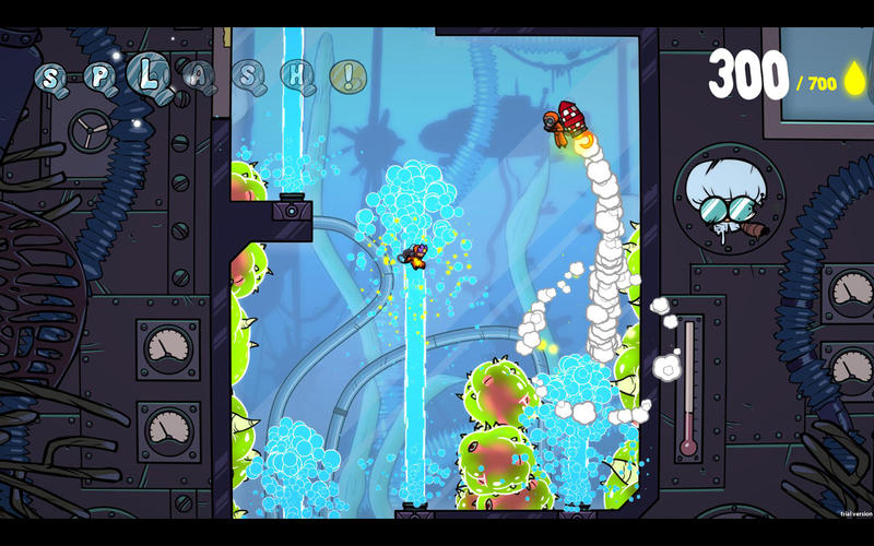 Splasher Screenshots