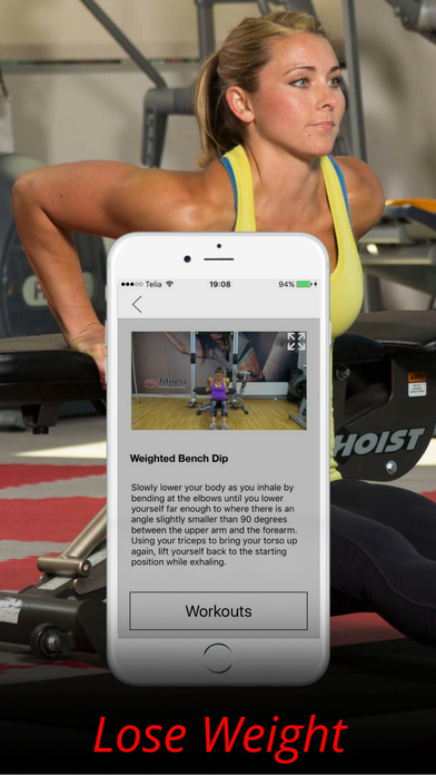 Triceps Exercises & Arm Workouts Training Routine Screenshots