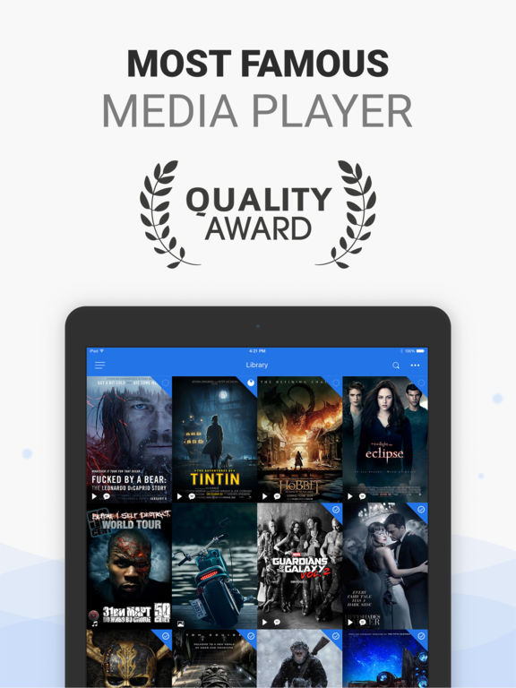 Screenshots of PlayerXtreme Media Player - The best player of movies, videos, music & streaming for iPad