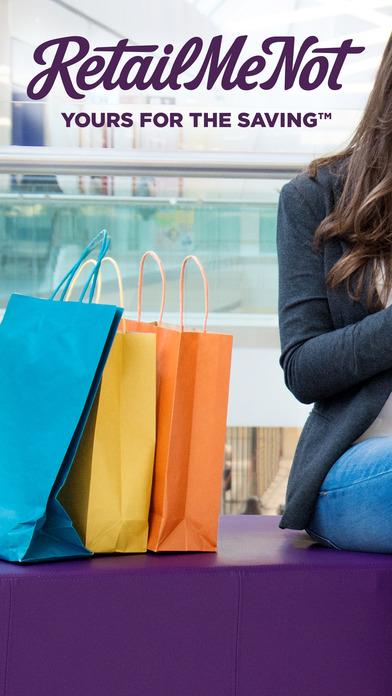 RetailMeNot Shopping Deals, Coupons, Savings screenshot