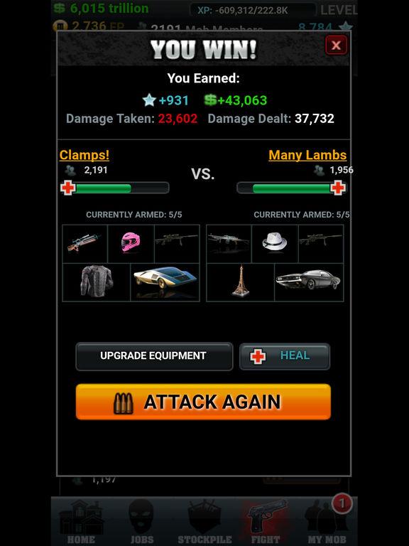 Screenshots of Mob Wars for iPad
