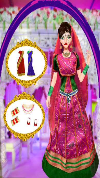 App shopper indian bridal girl wedding makeover salon games games
