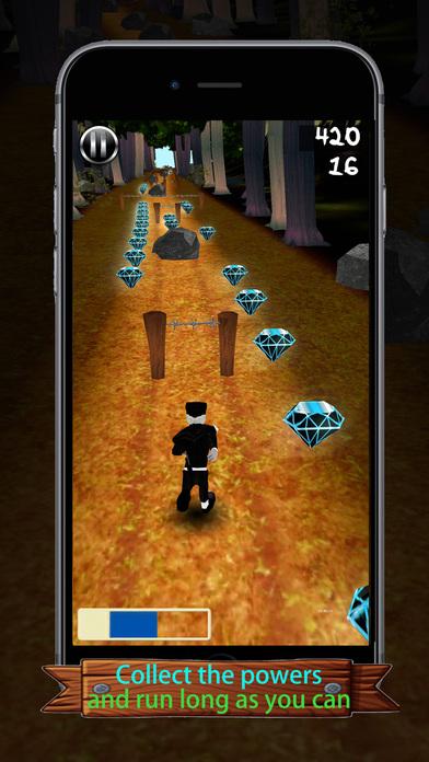 Santa Ninja Runner iPhone Screenshot 1