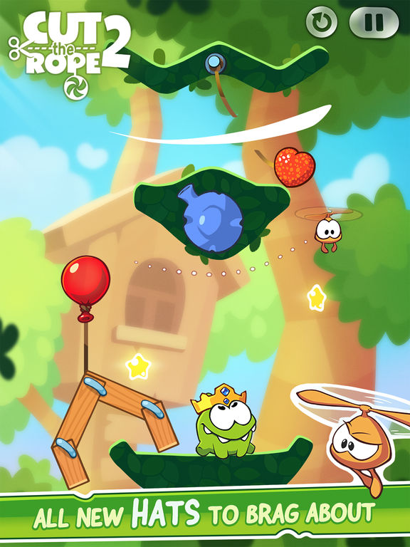Cut the Rope 2 Screenshots