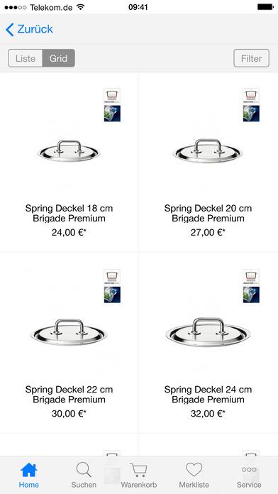 tradeparadise.de - Ihr Shop rund ums Kochen, Lifestyle, Design und Beauty iPhone Screenshot 3