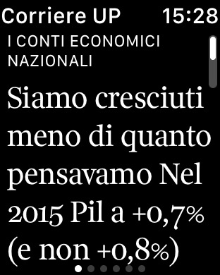 Corriere della Sera.it iPhone Screenshot 6