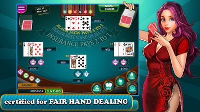 Screenshot 4 BlackJack — Play Blackjack Casino 21 Card Game!