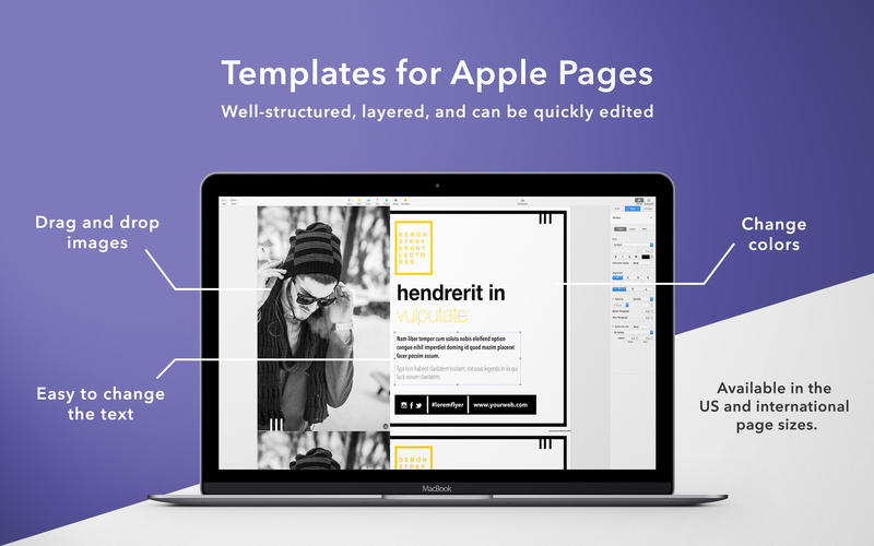 Flyer mill templates for pages flyer mill templates for Apple pages brochure templates