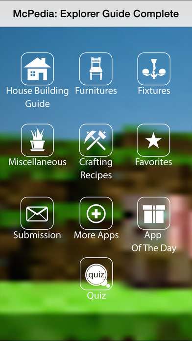 App shopper house furniture guide for minecraft for Home building apps for iphone