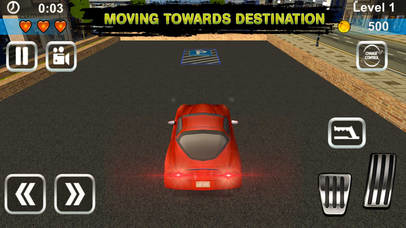 3D Dream Car Parking Simulator Pro screenshot 4