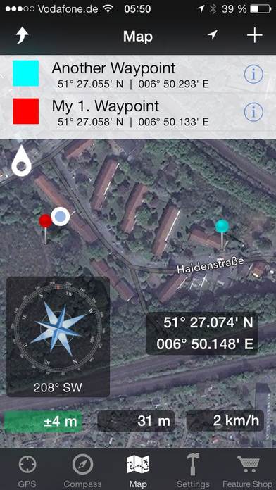 Easy GPS: Coordinates, Compass, Waypoint, Map Data app image
