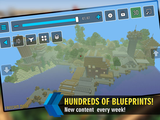 MCProApp Re-Boot Features Hundreds of 3D Minecraft Blueprints & More Image