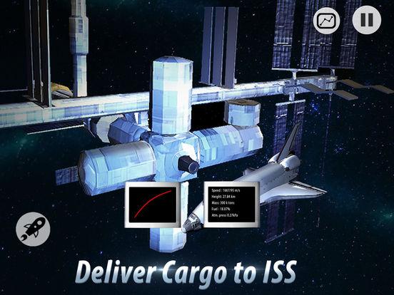 Space Shuttle Pilot Simulator 3D Full screenshot 7