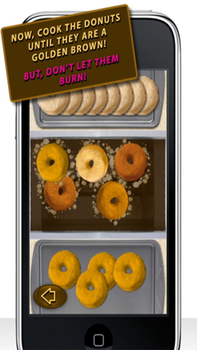 Donut Maker iPhone Screenshot 3