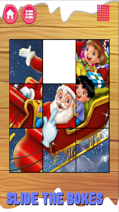 Santa Slide Puzzle For Kids screenshot 3