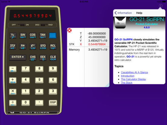 GO-21 SciRPN iPad Screenshot 2