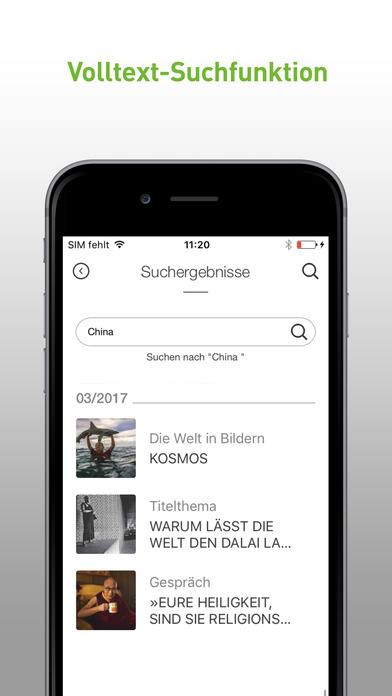 GEO Magazin | Spannende Reportagen & Fotografie Apps free for iPhone/iPad screenshot