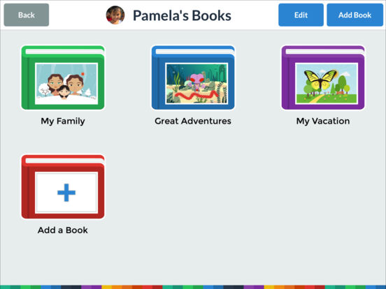 My Story Book Creator School Edition Screenshots