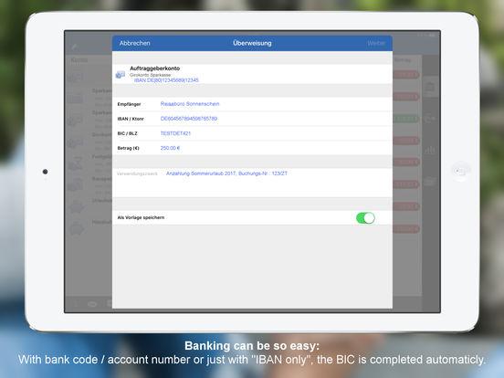 StarMoney für iPad - Mobile Banking für Banken und Sparkassen iPad Screenshot 2