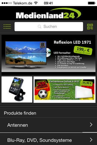 Medienland24.de - Techniktrends bequem einkaufen screenshot 1
