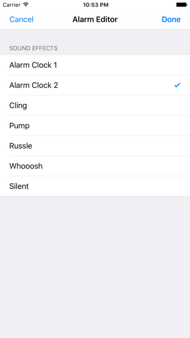 Time's Up iPhone Screenshot 3