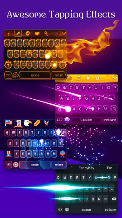 FancyKey - Emoji Keyboard Themes & Cool Fonts app image