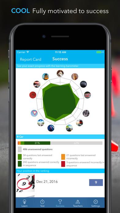 iTheory Driving Theory Test Car Driver UK Premium Screenshots