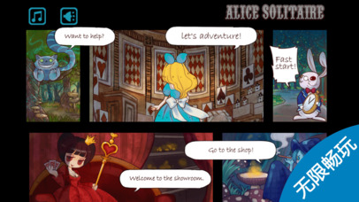 Screenshot 2 Alice Solitaire⋆free game