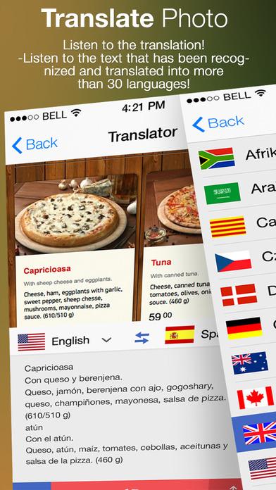 Translate Photo - OCR Camera Scanner & Translator Screenshot