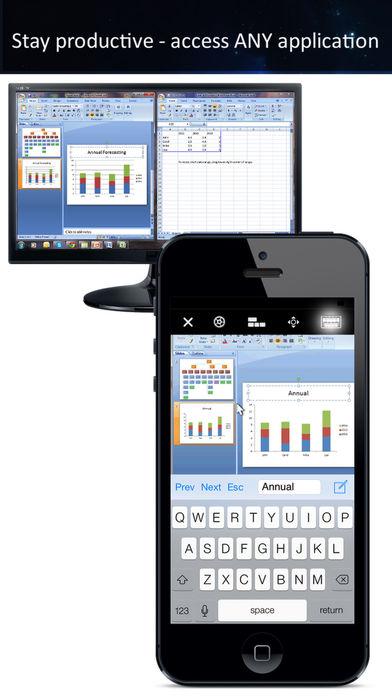 Удаленный рабочий стол iTeleport — VNC и RDP Screenshot